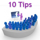 10 Tips for an Effective Facebook Page image