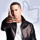 Eminem Out-Likes Lady Gaga image