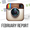 February Instagram Report image