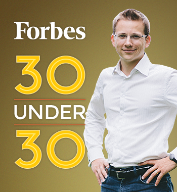 Socialbakers CEO Jan Rezab Featured in Forbes 30 Under 30 image