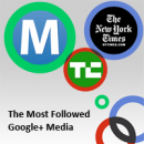 Google+ Statistics on Socialbakers: The Most Followed Google+ Media image