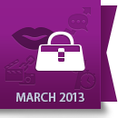 March 2013 Facebook Report: Fashion & Beauty Industry image