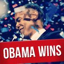 Obama Wins the Presidential Election as well as Social Media image