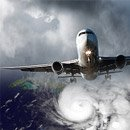 Sandy Goes Social When Airlines Are Grounded image