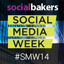 Socialbakers' Global Partnership with Social Media Week image
