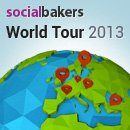 Socialbakers World Tour 2013 image