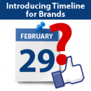 Watch out for the new Facebook Timeline for Brands image
