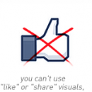 What you CAN'T put in the new Facebook Page cover photos [Explained] image
