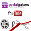 YouTube statistics for channels now on Socialbakers - daily stats and key rankings! image