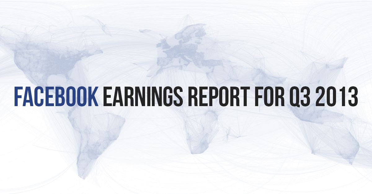 when does facebook report earnings