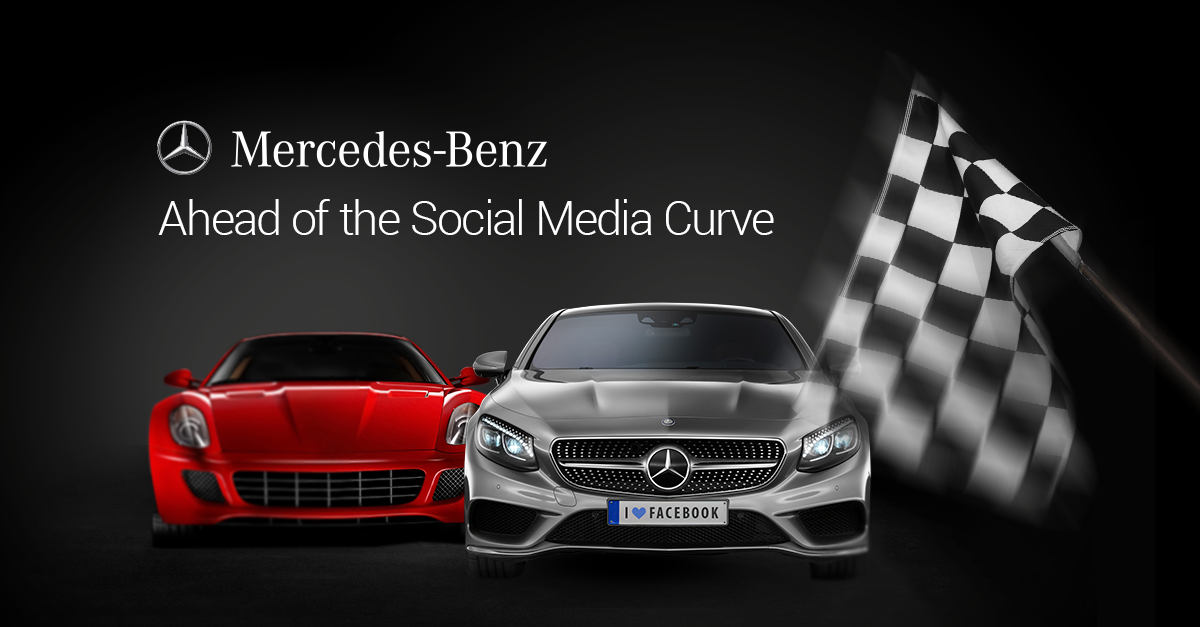 Mercedes benz ahead of the innovation curve on social for Mercedes benz corporate number
